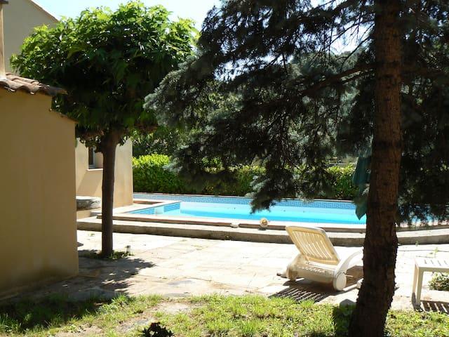 Le jardin de Colette - Olargues - Casa