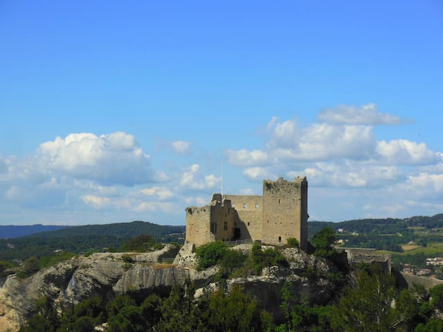 The most beautiful view in Vaison - Vaison-la-Romaine