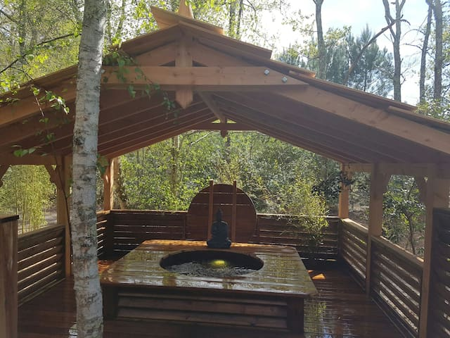 Chalet SAVANNAKETH avec SPA PRIVATIF coin paradis - Lacanau - Xalet