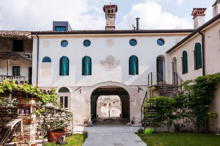 Romantica dimora in Borgo Storico - Cison di Valmarino - Apartment