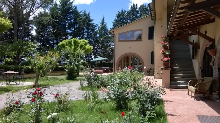 Villa with land and view on Assisi - Perugia - Villa