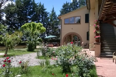 Villa with land and view on Assisi - Perugia