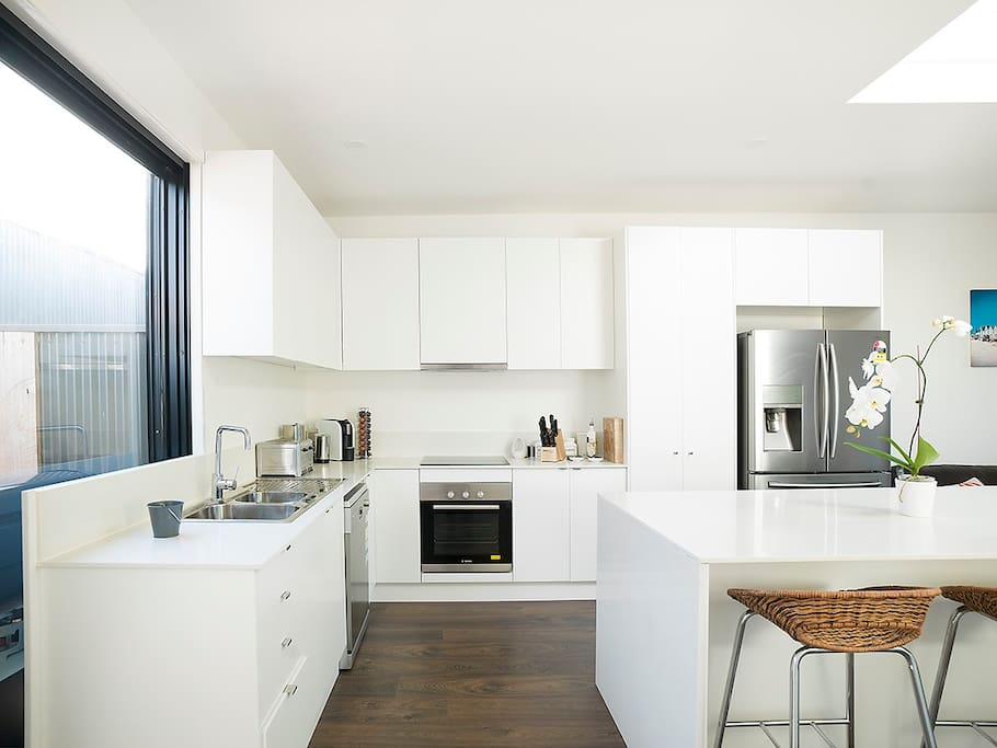 Cook in our fully equipped kitchen