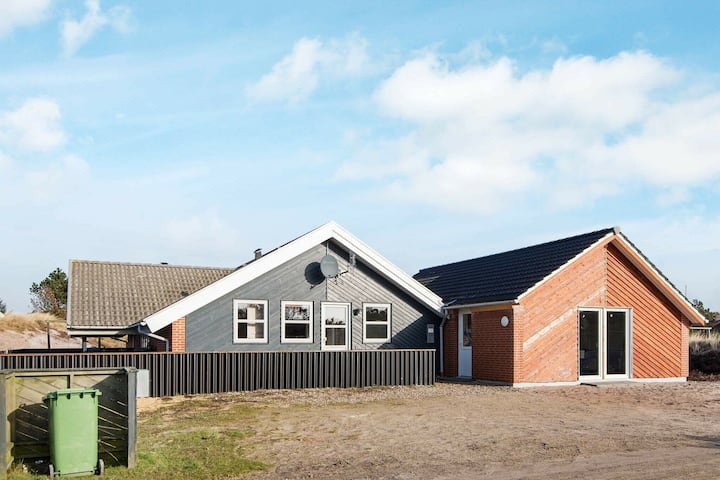 Inviting Holiday Home in Henne with Solarium