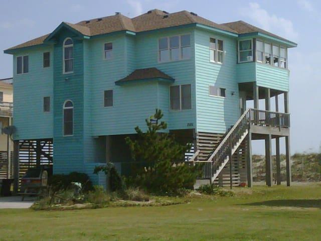 Oceanfront Home Hatteras Island