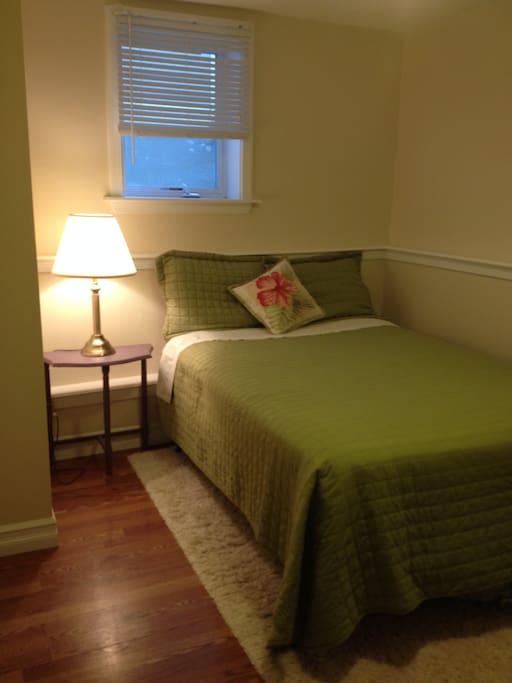 1 bedroom double bed