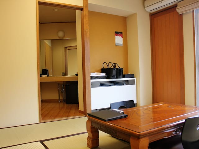 Modern Japanese Style Room near Lake Ashi #2~11