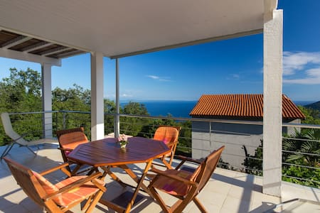 Amazing seaview & huge terrace 2BD. - Opatija