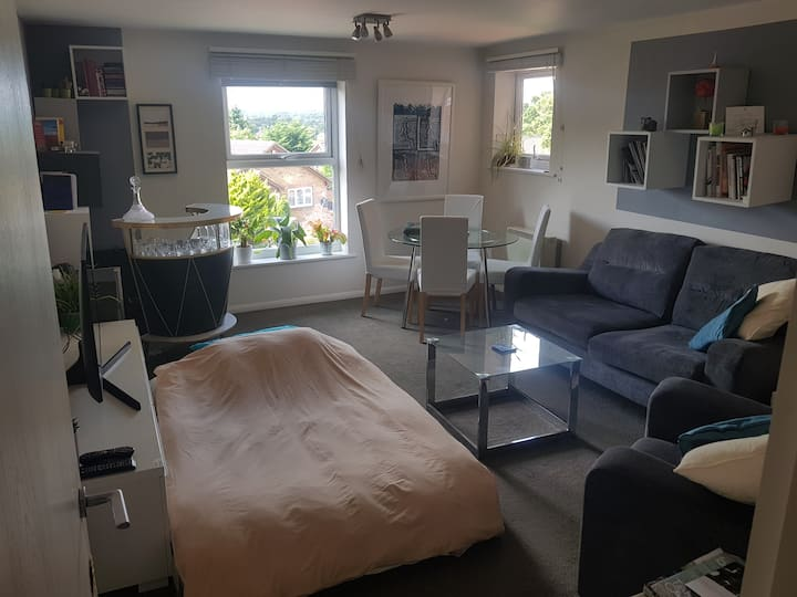 Clean and modern 1 bed flat in very safe area.