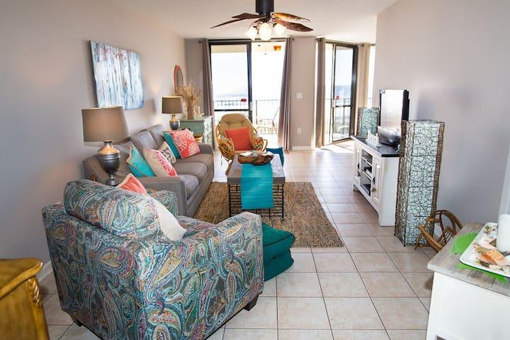 WOW Beachfront views,new everything,DEAL 4/29-5/6 - Orange Beach - Apartament