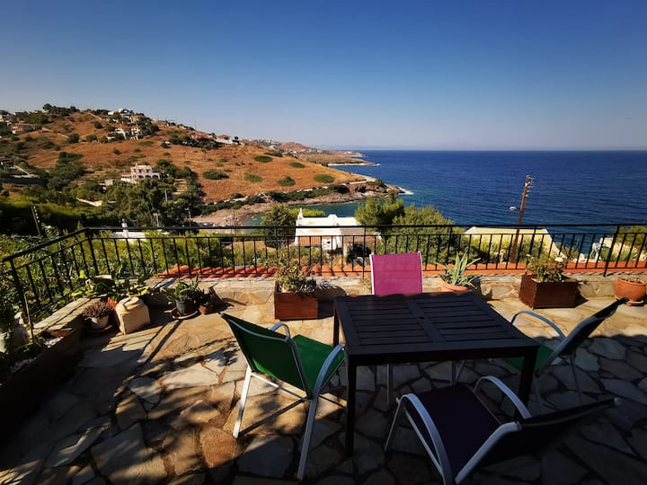 Beach House 50 meters from the Aegean Sea