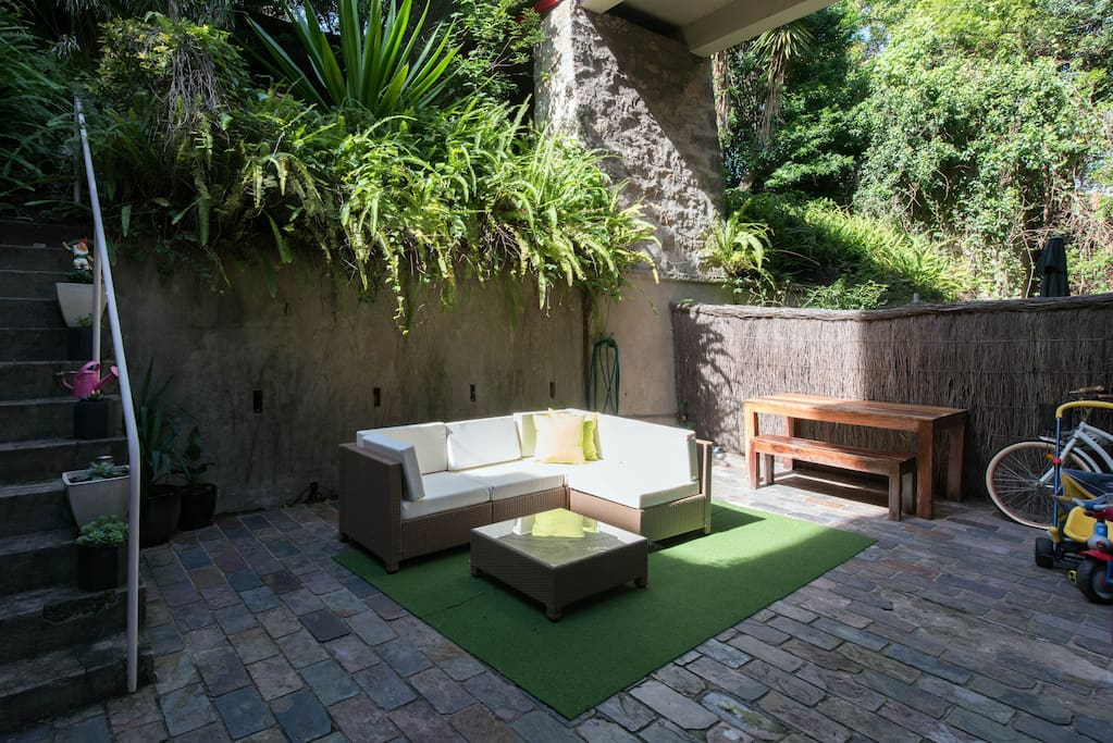 Private Outdoor courtyard for you to enjoy and relax