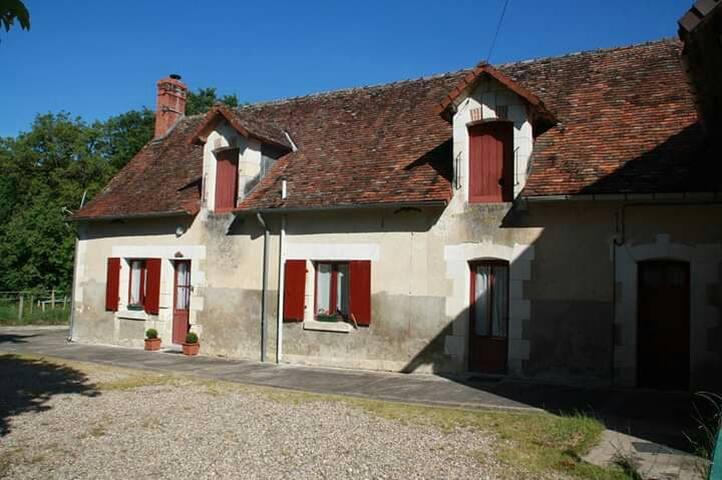 Agréable gîte entre Berry, Poitou et Touraine