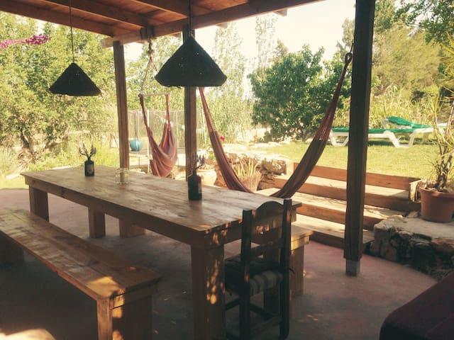 Bohemian Ethno Villa with Pool & BBQ