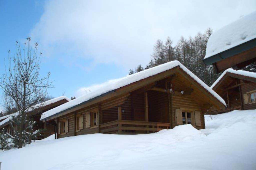 Haus 10 im Winter 2010 / 2011