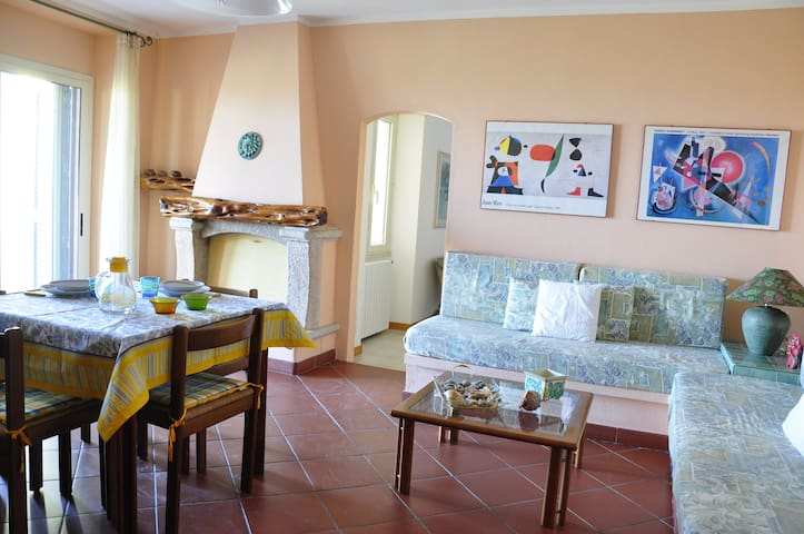 Two-rooms apartment with sea view - Valledoria - Apartment