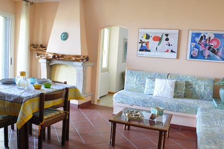Two-rooms apartment with sea view - Valledoria