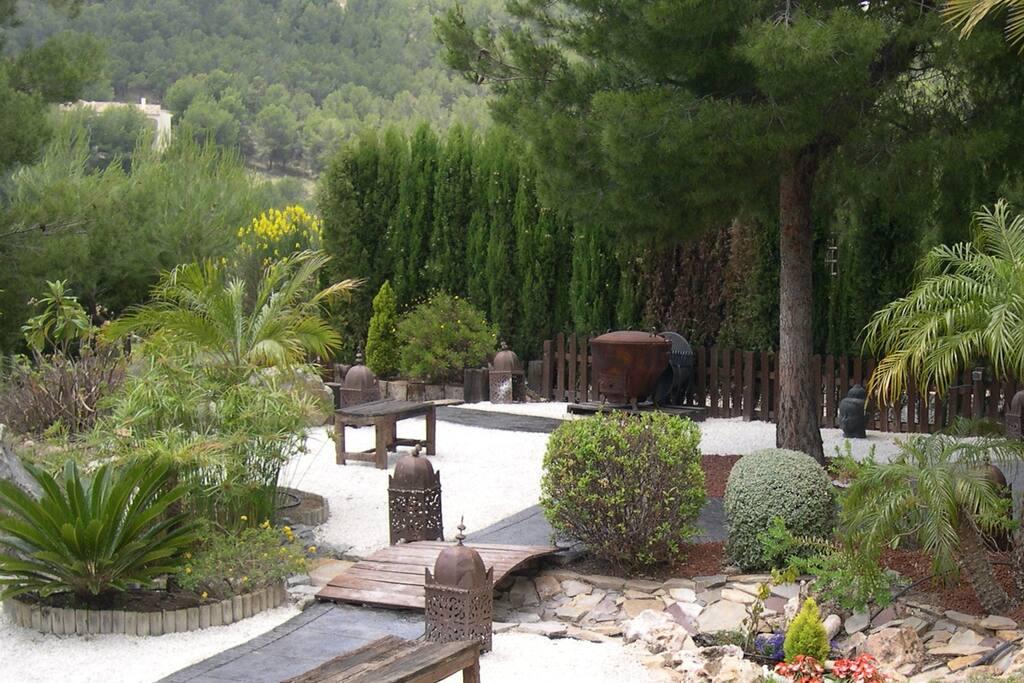 Paseos por el jardin