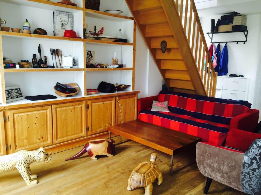 Salon 30 m2