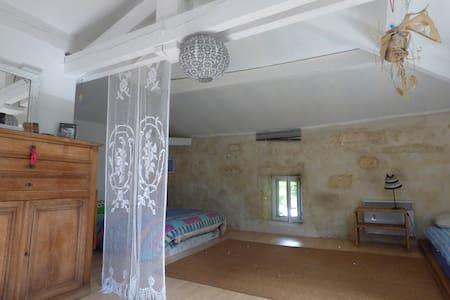 chambres calmes pour 2/3 personnes  - Saint-Aubin-de-Branne