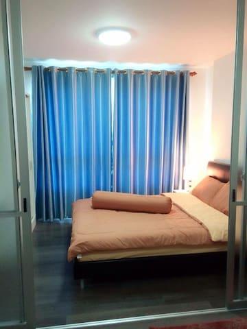 D Condo Noernphra for rent. - Rayong - Apartament