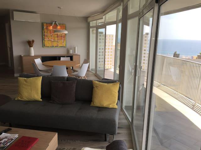 Attique exclusive,tranquile, renove, vue grandiose - Lloret de Mar - Appartement en résidence