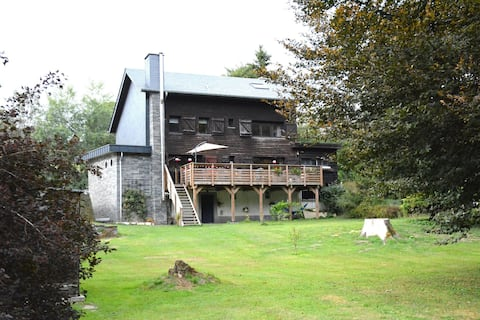 Chalet renovated with great care, large garden,