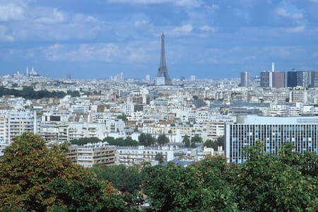 Cosy 1 BR Appt with Balcony & view on Eiffel Tower