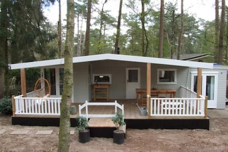 Summer house with large veranda and WiFi - Doornspijk - Шале