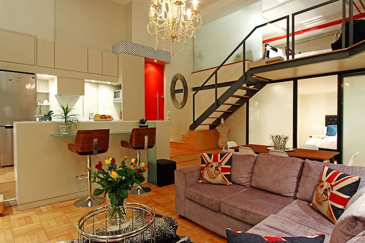 Stella Apartment has a great feeling of spaciousness