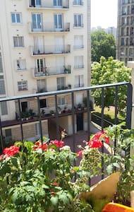 chambre avec balcon a 5mn de paris - Pantin