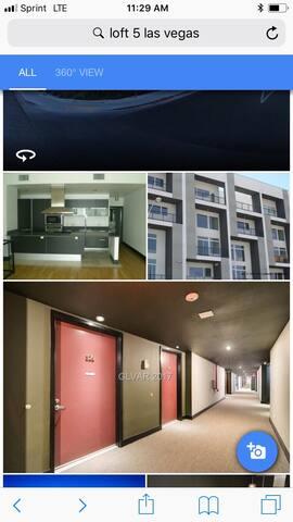 2 bedroom open loft condo