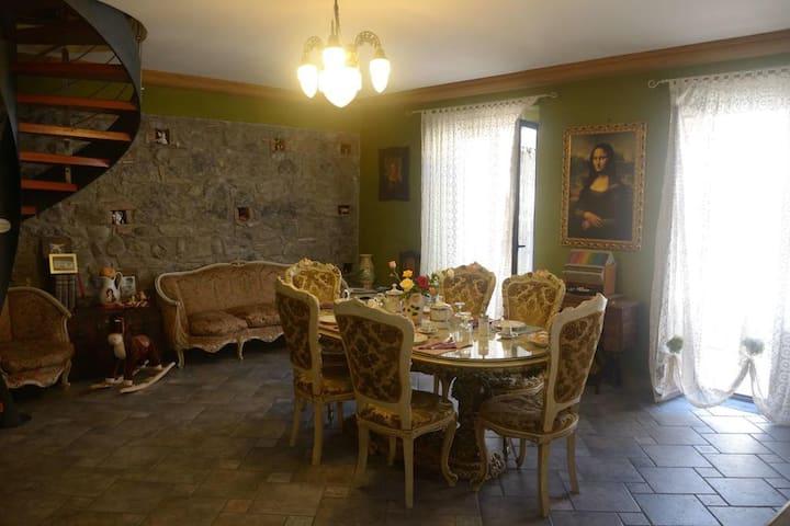B&B Villa Felice Giardini Naxos Pink Room