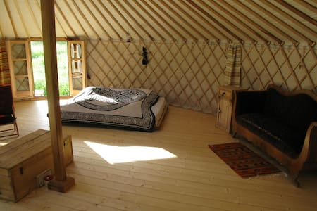 Stay in nature in Yurt