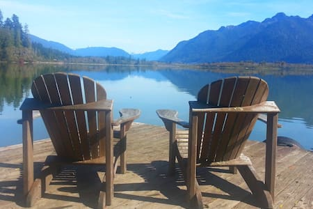 Cottage Peaks / Best View On Lake Quinault - Amanda Park - Rumah