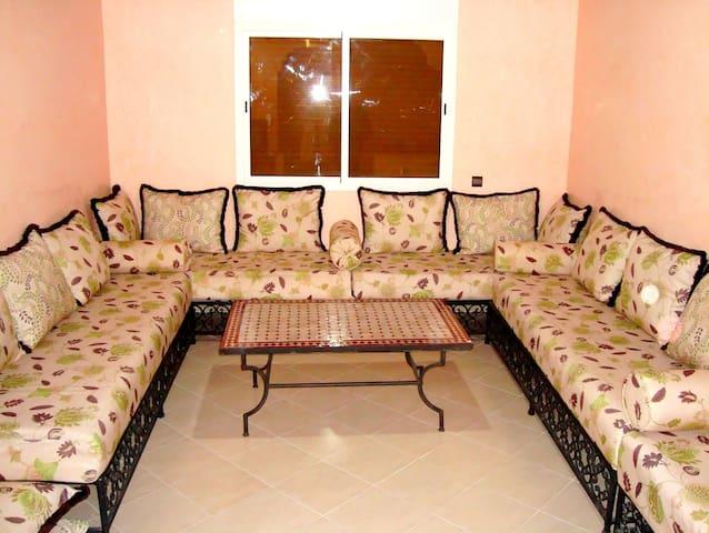 Appart 3 chambres Temara +wifi  - Temara - Daire