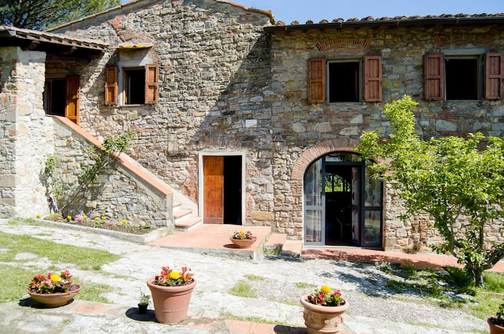 Cosy Countryhouse: free wifi, terrace, panoramas - Rignano sull'Arno - Apartment