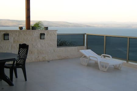 AMAZING SEA VIEW LUXURY 4BR APT - Tiberias