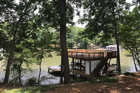 It's better at the lake! 2 room studio w/boat slip