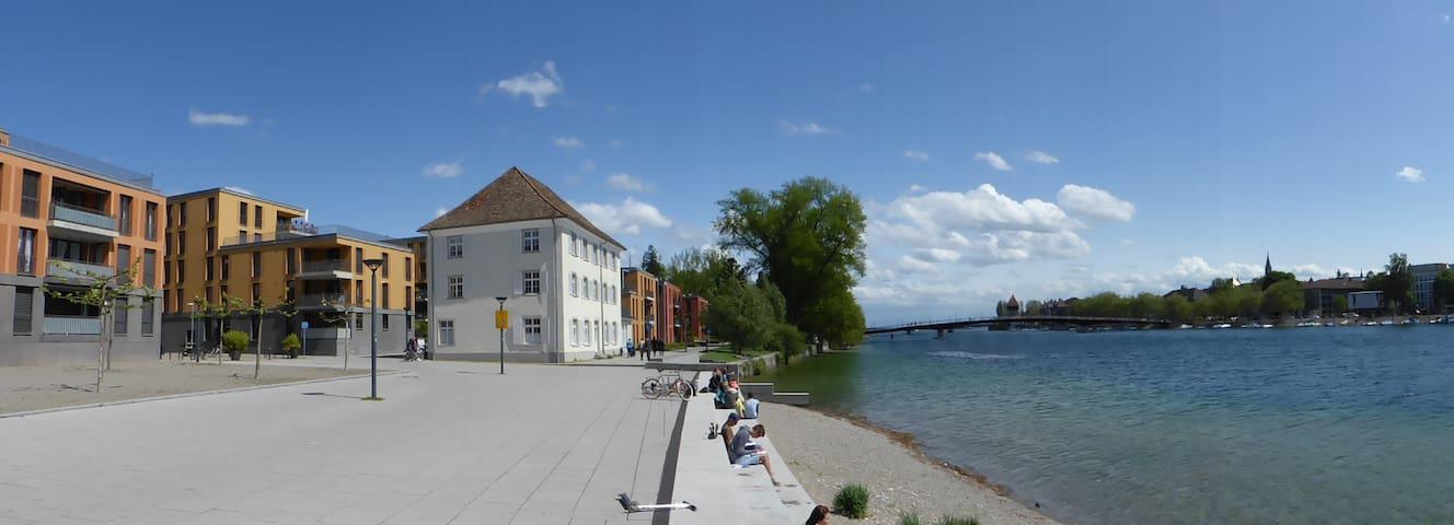 Modern apartment across Seerhein - Konstanz - Huoneisto