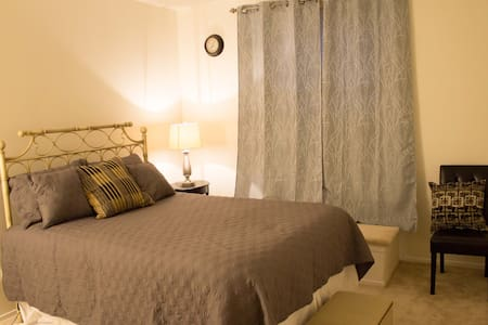 Lovely bedroom near RWJ/Rutgers - New Brunswick - Hus