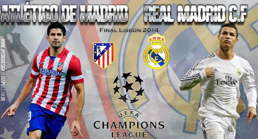 Champions League Final Weekend - Lisboa - Huis