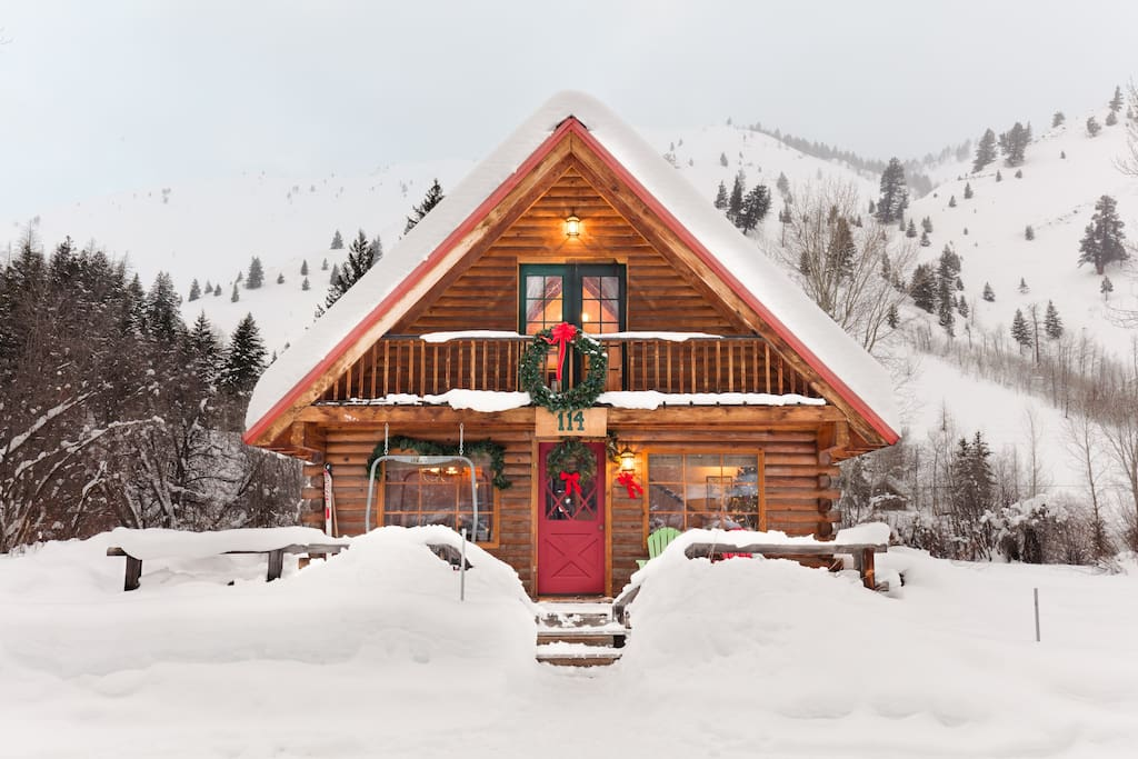 mountain retreat cabins for rent in ketchum idaho