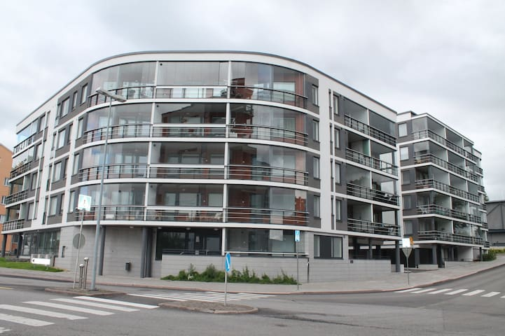 Forenom studio apartment (with French Balcony) in Turku