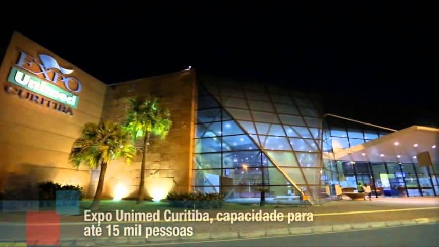 Expo Unimed Apto Suite Curitiba Campo comprido