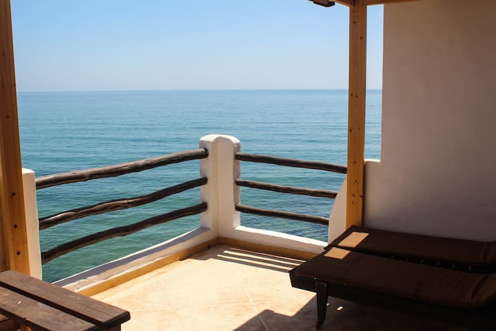 Over looking the Oceon Apartment in taghazout ap4