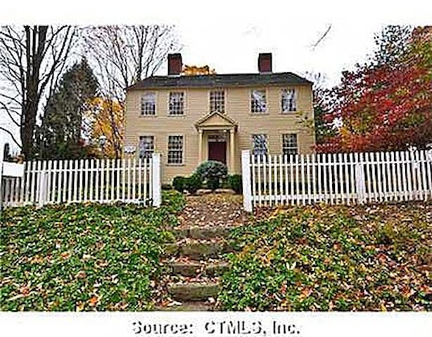 Colonial charm in 1776 CT farmhouse - Durham