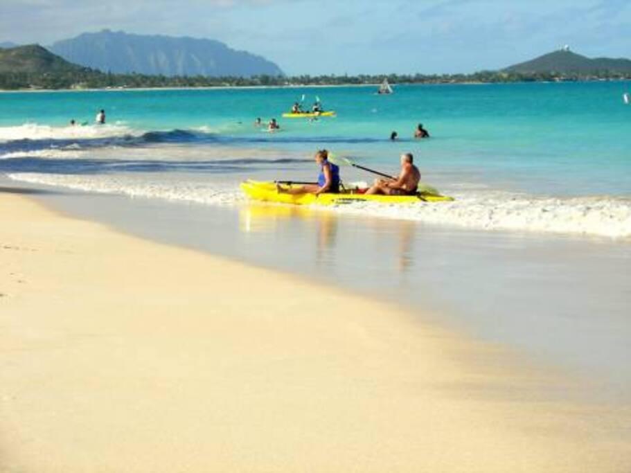 Great kayaking