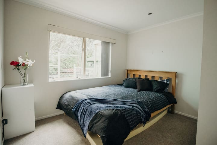 Rimu Room: Quiet, sunny, central, safe