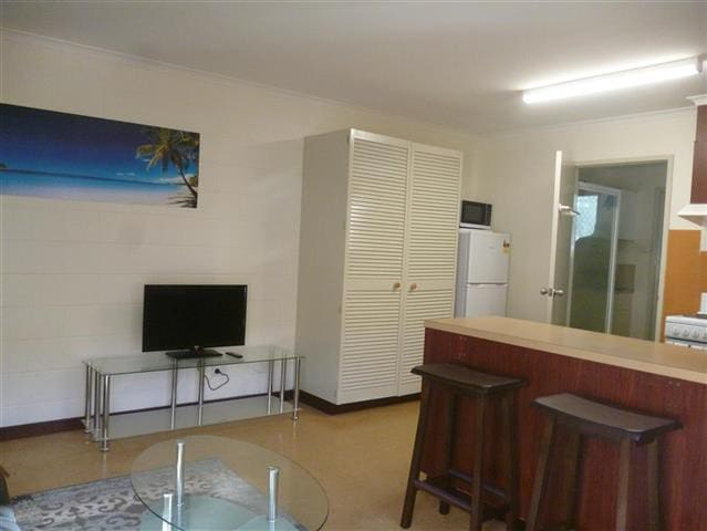 Air conditioned Open plan living area